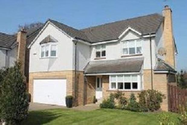 Thumbnail Detached house to rent in Knights Gate, Bothwell, Glasgow
