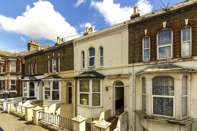 Thumbnail Terraced house for sale in South Eastern Road, Ramsgate