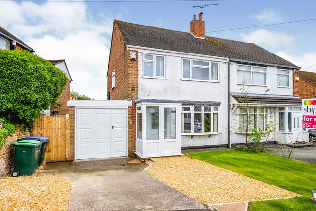 Thumbnail Semi-detached house for sale in Broomhill Lane, Great Barr, Birmingham