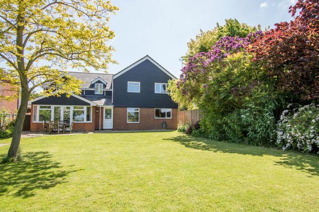 Thumbnail Detached house for sale in Littlebury Green, Saffron Walden