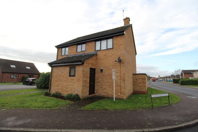 Thumbnail Detached house for sale in Nightingale Close, Mildenhall, Bury St. Edmunds