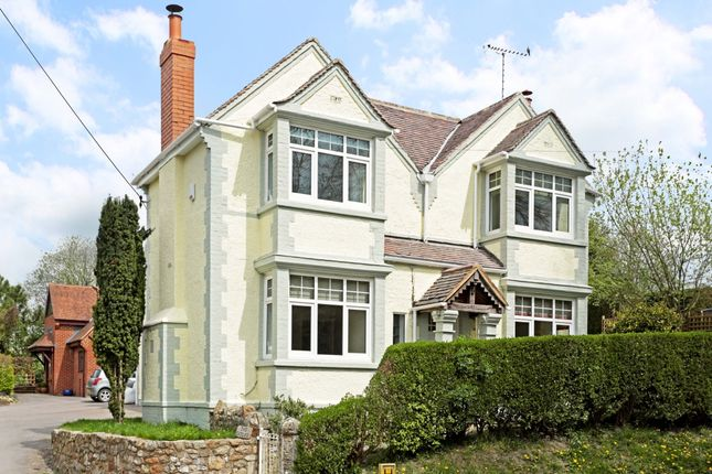 Thumbnail Detached house to rent in The Gables, High Street, Ogbourne St. George, Marlborough