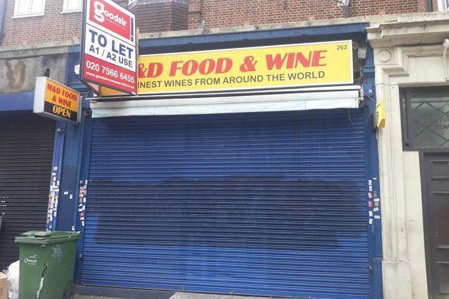Thumbnail Retail premises to let in 262, Brixton Hill, London