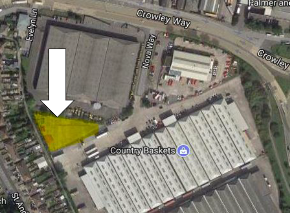 Thumbnail Land to let in Crowley Way, Avonmouth, Bristol