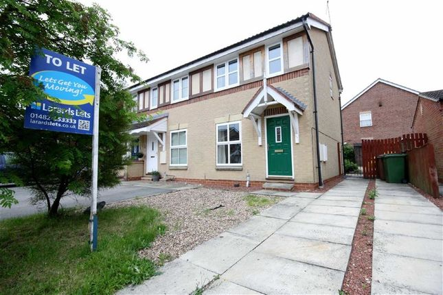 Thumbnail Terraced house to rent in Bielby Drive, Beverley