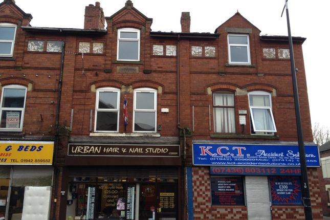 Thumbnail Flat to rent in Market Street, Hindley