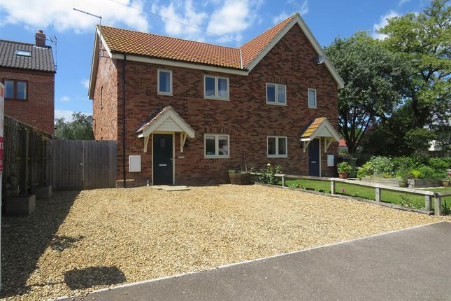 Thumbnail Semi-detached house for sale in Mill Lane, Syderstone, King's Lynn