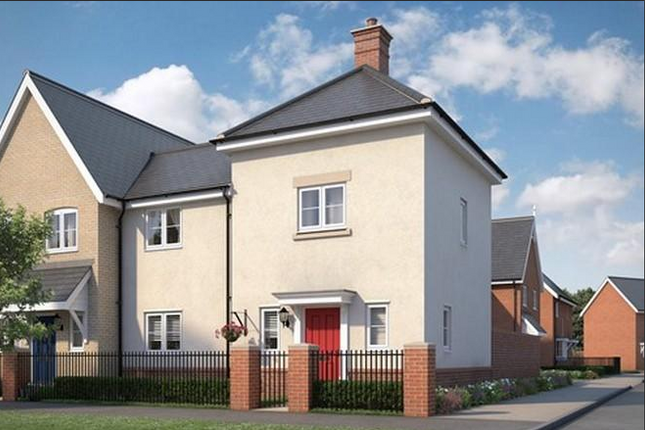 Thumbnail Semi-detached house for sale in The Farley At Countryside At Chesterwell, Nayland Road, Mile End, Colchester, Essex