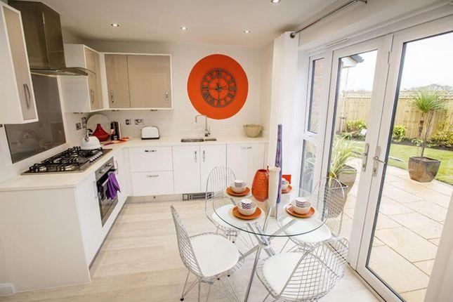 "Thumbnail Semi-detached house for sale in ""Sandon"" at Dunnock Lane, Cottam, Preston"