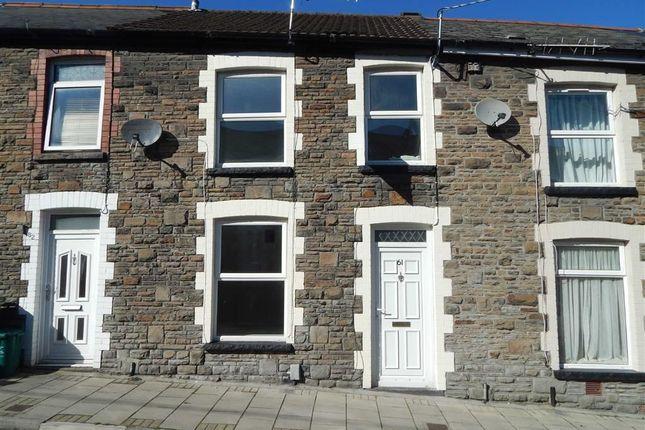 Thumbnail Terraced house to rent in Danygraig Street, Pontypridd, Rhondda Cynon Taff