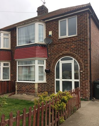 Thumbnail Semi-detached house to rent in York Road, Redcar