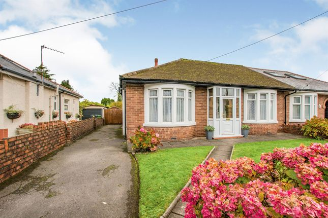 Thumbnail Semi-detached bungalow for sale in Cae Maen, Whitchurch, Cardiff