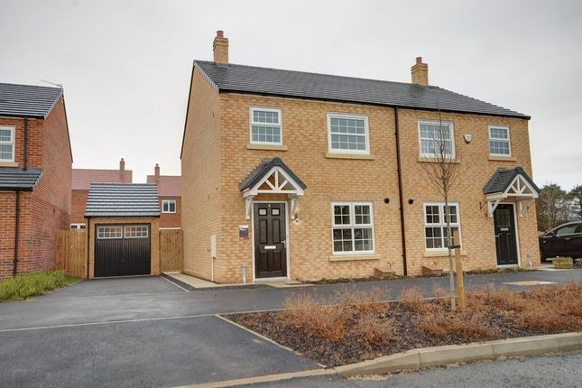 Thumbnail Detached house to rent in Aspen Way, Morpeth