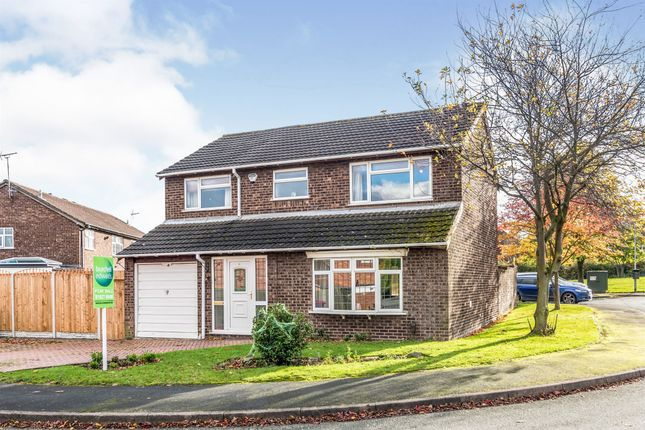 Thumbnail Detached house for sale in Arkle, Dosthill, Tamworth