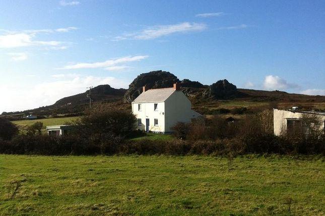 Thumbnail Farmhouse for sale in Pencaer, Goodwick, Pembrokeshire