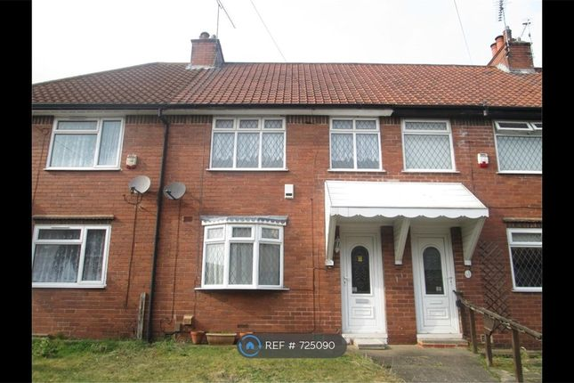 Thumbnail Terraced house to rent in Alcock Avenue, Mansfield