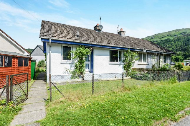 Thumbnail Semi-detached bungalow for sale in Donich Park, Lochgoilhead, Cairndow