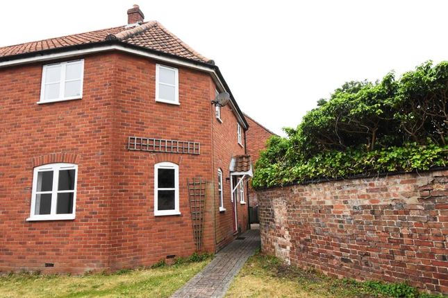 Thumbnail End terrace house for sale in Malthouse Yard, Reepham, Norwich