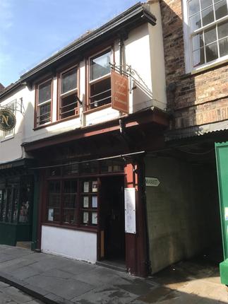 Thumbnail Restaurant/cafe for sale in Shambles, York