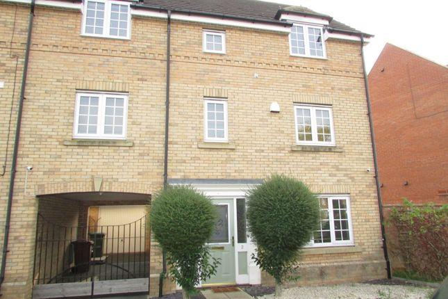 Thumbnail End terrace house to rent in Higney Road, Hampton Vale