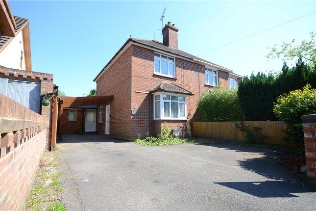 Thumbnail Semi-detached house for sale in Park Road, Sandhurst, Berkshire