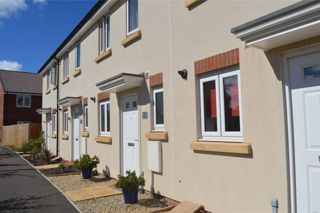 Thumbnail Terraced house to rent in Dragon Rise, Norton Fitzwarren, Taunton, Somerset