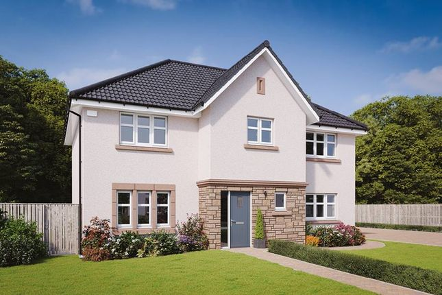 "Thumbnail Detached house for sale in ""The Elliot"" at Davidston Place, Lenzie, Kirkintilloch, Glasgow"