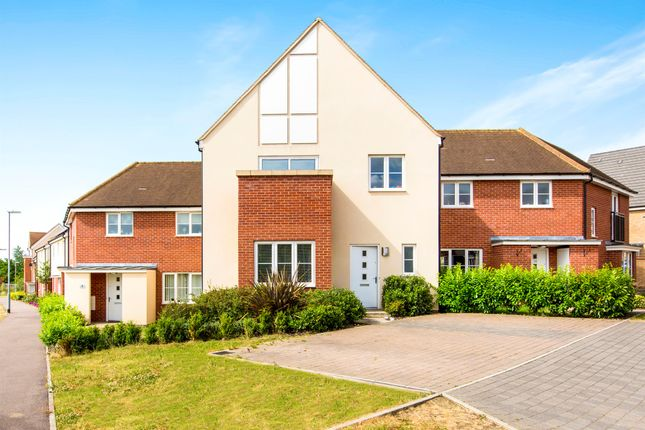 Terraced house for sale in Clark Drive, St. Neots