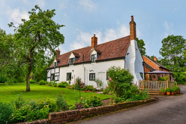 Thumbnail 5 bed farmhouse for sale in Longdon, Tewkesbury