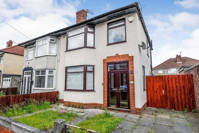 Thumbnail Semi-detached house to rent in Warbreck Avenue, Liverpool, Merseyside