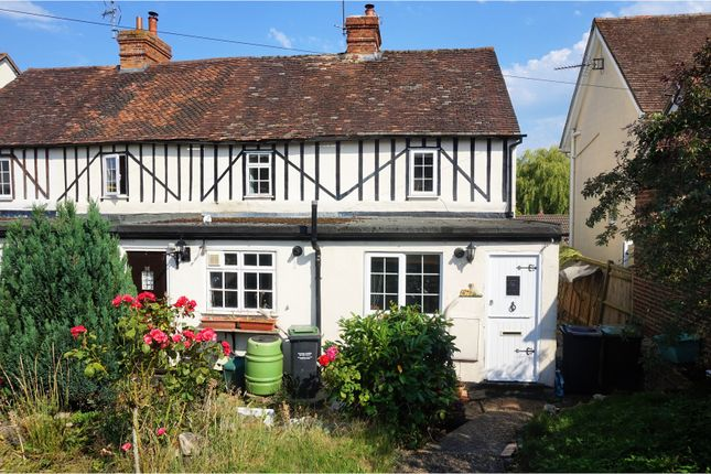 Thumbnail End terrace house for sale in Station Road, Borough Green, Sevenoaks