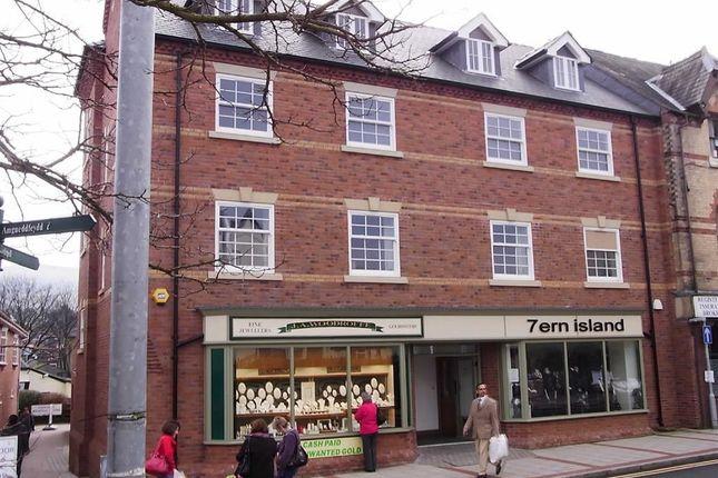 Thumbnail Flat to rent in Apartment 2 Tasey House, Market Street, Market Street, Newtown, Powys