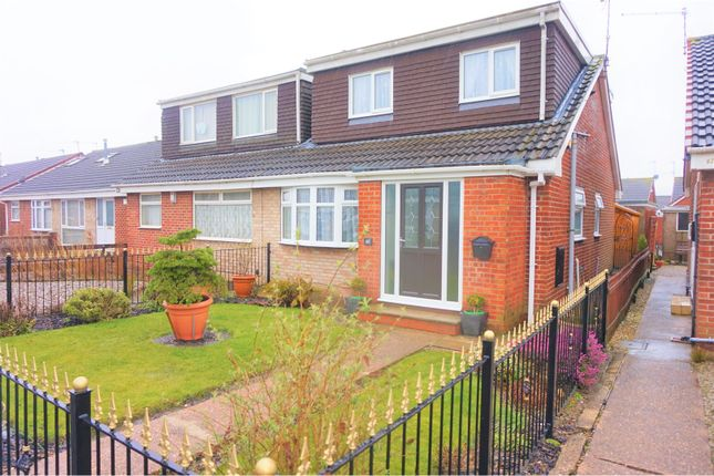 Thumbnail Semi-detached bungalow for sale in Stonesdale, Hull