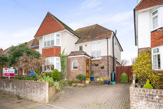 Thumbnail Semi-detached house for sale in Southlands Road, Bexhill-On-Sea