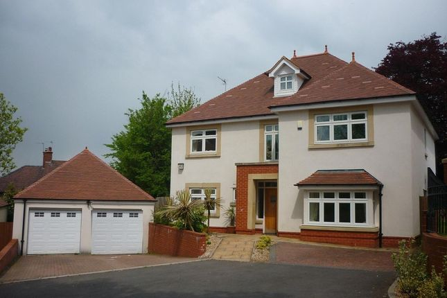 Thumbnail Detached house to rent in Glasllwch Lane, Newport
