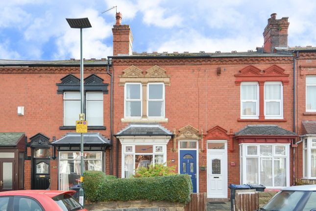 Thumbnail Terraced house for sale in Selsey Road, Edgbaston