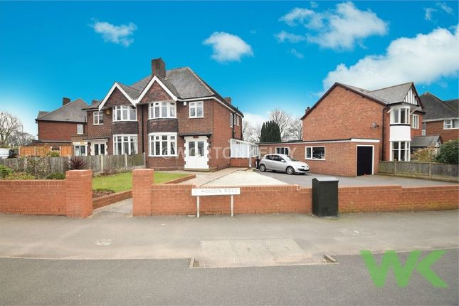 Thumbnail Semi-detached house for sale in Porthmeor, Holden Road, Wednesbury, West Midlands