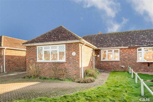Thumbnail Semi-detached bungalow for sale in Mabledon Avenue, Ashford, Kent