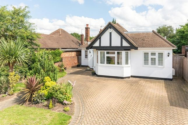 Thumbnail Detached bungalow for sale in Shaldon Way, Walton-On-Thames, Surrey