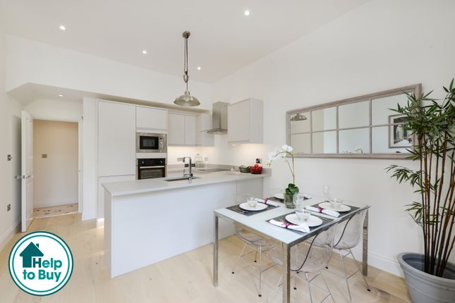 Thumbnail Flat for sale in Knight's Hill, London
