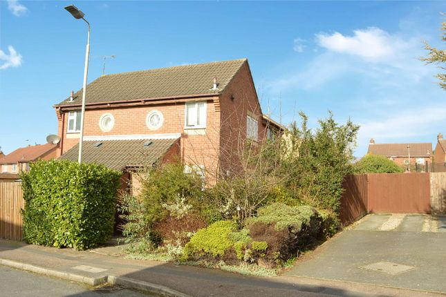 Thumbnail End terrace house for sale in Althorp Close, Aylestone, Leicester