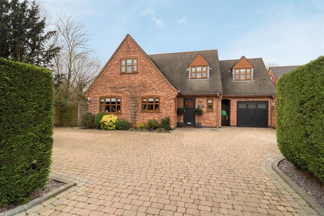 Thumbnail Detached house for sale in Arnold Road, Stoke Golding, Nuneaton