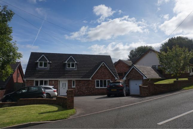 Thumbnail Detached house for sale in Rhewl, Holywell