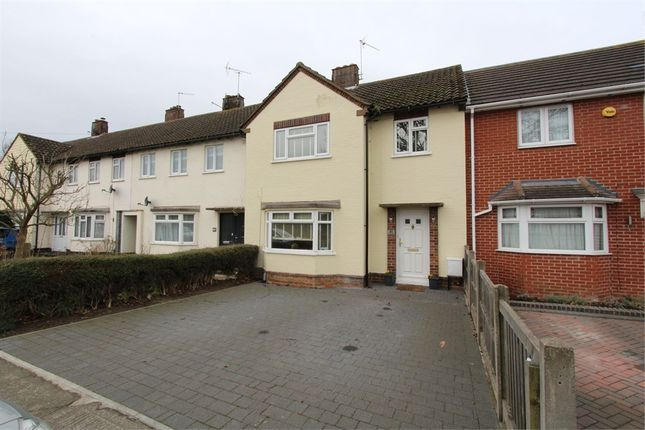Thumbnail Terraced house for sale in John Kent Avenue, Colchester, Essex