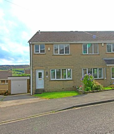 3 bed semi-detached house for sale in Holme View Drive, Upperthong, Holmfirth