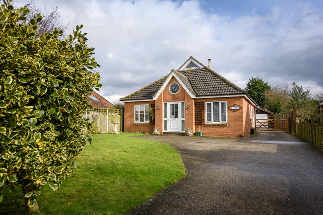 Thumbnail Detached house for sale in North Road, Bunwell, Norwich