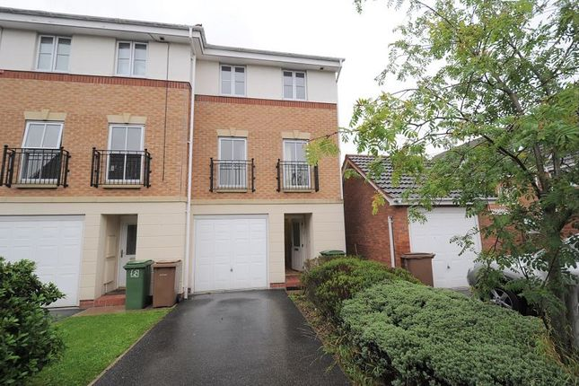 Thumbnail End terrace house to rent in Southwick Court, Beverley