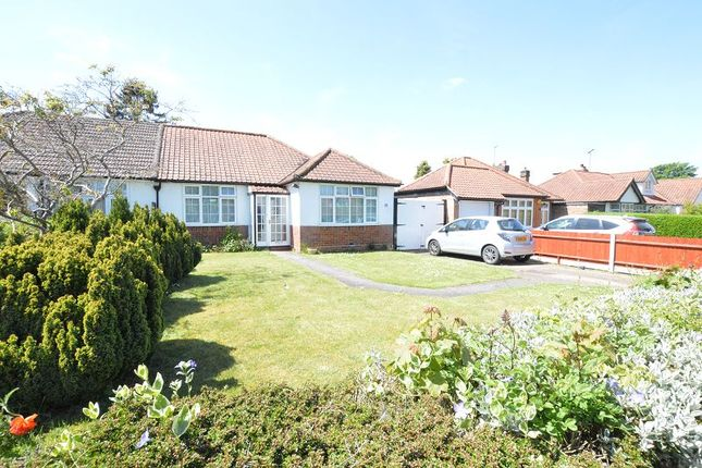 Thumbnail Semi-detached bungalow to rent in Stanley Avenue, St Albans, Chiswell Green