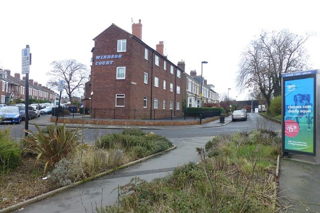 Thumbnail Flat to rent in Windsor Court, Windsor Tce., South Gosforth, Newcastle Upon Tyne