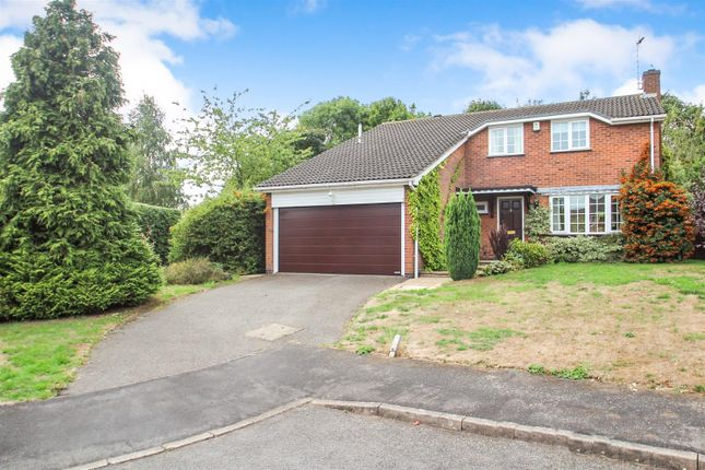 Thumbnail Detached house for sale in Flaxland, Rothley, Leicester